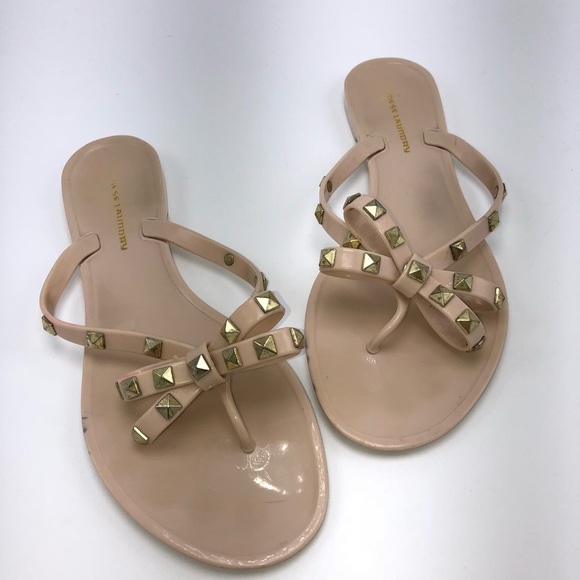 8013daf6c8d5 Chinese Laundry Shoes - ◽️Chinese laundry◽️rockstud bow flip flops